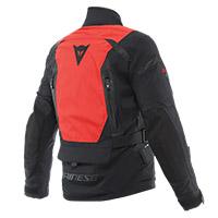 Dainese Stelvio D-air D-dry Xt Jacket Black Red