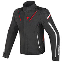 Dainese Stream Line D-dry Jacket Nero Rosso