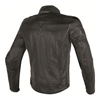Dainese Street Darker Perforated Leather Jacket Nero