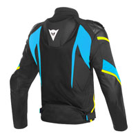 Dainese Super Rider D-dry Jacket Black Yellow Blue