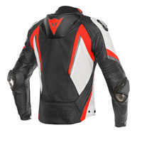 Dainese Super Rider Perforated Leather Jacket Red
