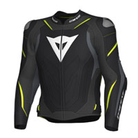 Dainese Super Speed 3 Jacket Black Grey Fluo Yellow