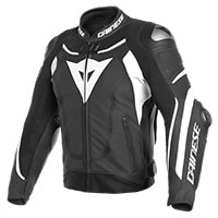 Dainese Super Speed 3 Perforated Jacket Black White
