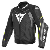 Dainese Super Speed 3 Perforated Jacket Black Yellow
