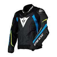 Dainese Giacca Super Speed 3 Black Blue Fluo Yellow