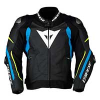 Dainese Super Speed 3 Jacket Black Blue Fluo Yellow