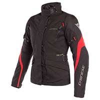 Dainese Tempest 2 D-dry Jacket Lady Black Red