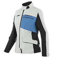 Giacca Donna Dainese Tonale D-dry Xt Grigio Blu Donna