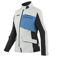 Dainese Tonale D-dry Xt Lady Jacket Grey Blue