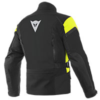 Dainese Tonale D-dry Xt Jacket Black Yellow Fluo