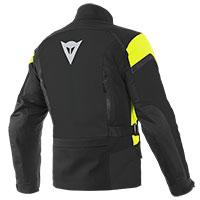 Dainese Tonale D-dry Xt Jacket Black Yellow Fluo