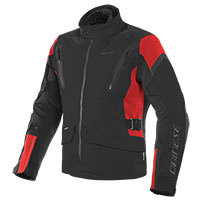 Dainese Tonale D-dry Xt Jacket Black Lava Red