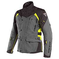 Dainese X-tourer D-dry Jacket Gray Black Fluo Yellow