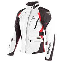 Dainese X-tourer D-dry Lady Jacket White Black Red