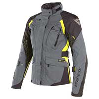 Dainese X-tourer D-dry Lady Jacket Gray Black Yellow