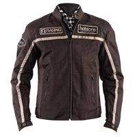 Helston Daytona Mesh Jacket Brown