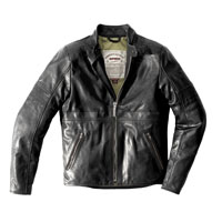 Spidi Garage Perforated Leather Jacket Black