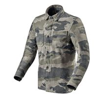 Rev'it Friction Leather Jacket Grey