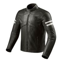 Rev'it Prometheus Lether Jacket Black White