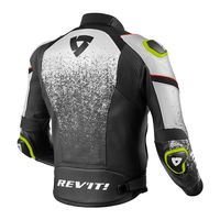Rev'it Quantum Air Leather Jacket Black White