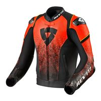 Rev'it Quantum Air Leather Jacket Black Red