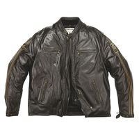 Giacca In Pelle Helstons Ace Big Body Marrone