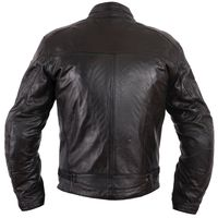 Giacca In Pelle Helstons Ace Rag Nero - 2
