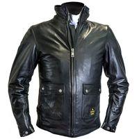 Helstons Alpha Leather Jacket Black