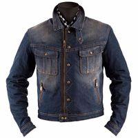 Helston Cannonball Dirty Jacket Blue