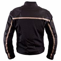 Helston Daytona Mesh Jacket Black