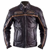 Helstons Daytona Leather Jacket Black