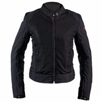 Helstons District Mesh Ladies Jacket Black