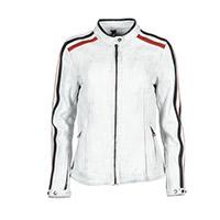 Helstons Jade Lady Leather Jacket White