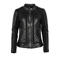 Giacca Pelle Donna Helstons Kate Nero Donna