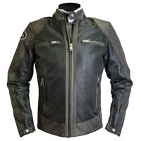 Helston Modelo Mesh Jacket Brown