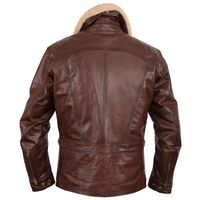 Helstons Mustang Leather Jacket Brown