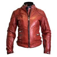 Helstons Pat Soft Ladies Jacket Red