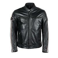 Helstons Race Rag Leather Jacket Black
