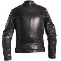 Helstons River Natural Leather Jacket Black