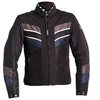 Helston River Mesh Jacket Black Blue Grey