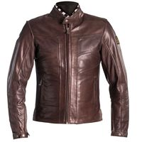 Helstons River Leather Jacket Camel