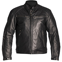Helstons Rocket Leather Jacket Black