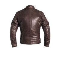 Blouson En Cuir Helstons Scoty Natural Marron