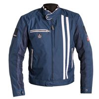 Helston Shelby Jacket Blue White