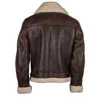 Helstons Thunder Leather Jacket Brown