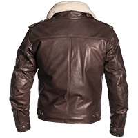 Helstons Tribe Natural Leather Jacket Brown