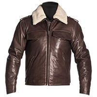 Giacca Pelle Helstons Tribe Natural Marrone