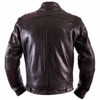 Helstons Trust Dirty Leather Jacket Brown