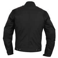 Helstons Trust Plain Leather Jacket Black