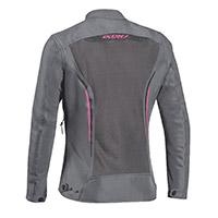 Ixon Cool Air Lady Jacket Grey Fuchsia